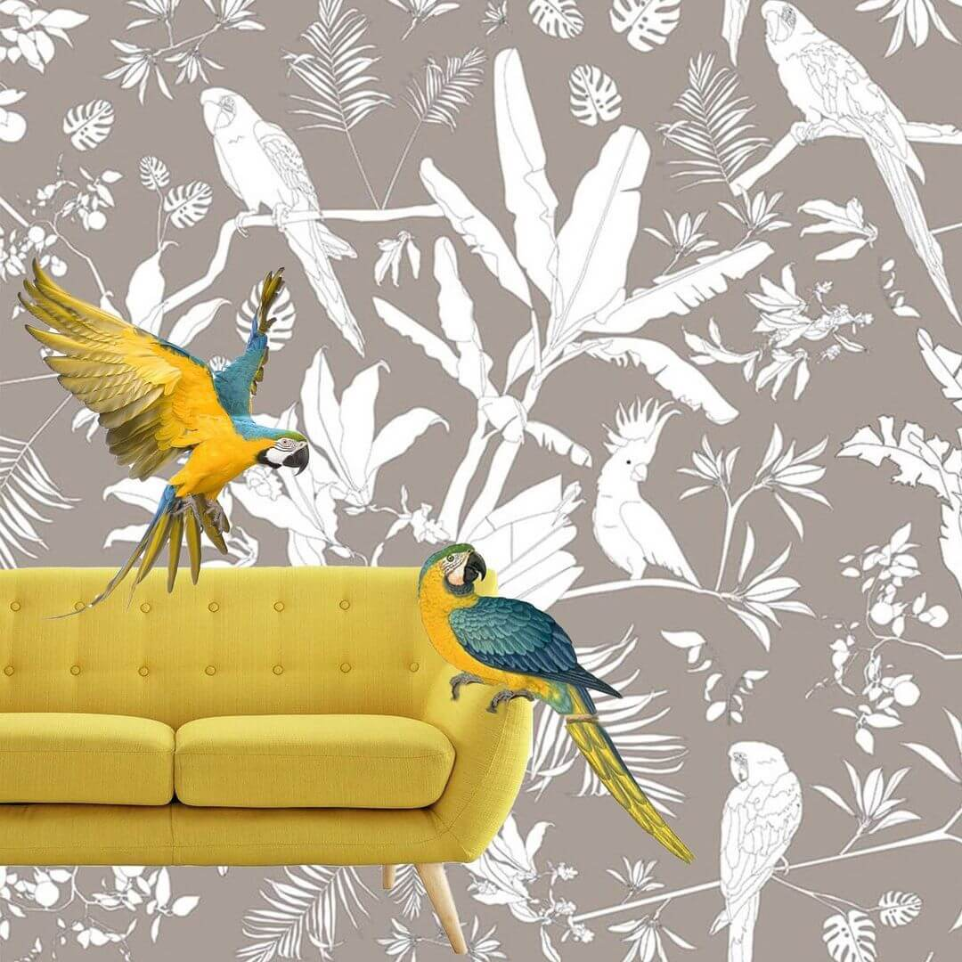 Elegir Un Papel Pintado de Diseño para Salones