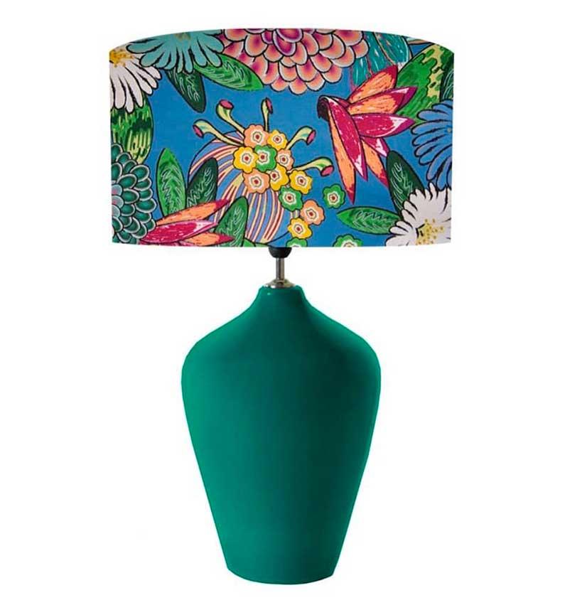 Complemento decorativo con lámparas de diseño